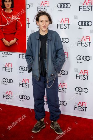 """Composer Mica Levi arrives at the 2016 AFI Festival """"Jackie"""" Centerpiece Gala at the TCL Chinese Theatre, in Los Angeles"""