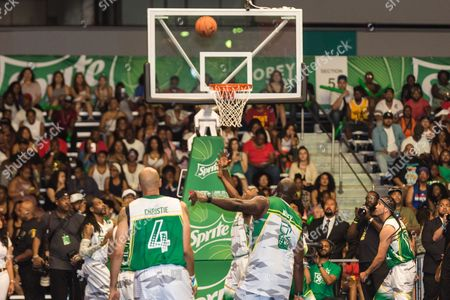 Editorial photo of 2016 BET Experience - Sprite Celebrity Basketball Game, Los Angeles, USA