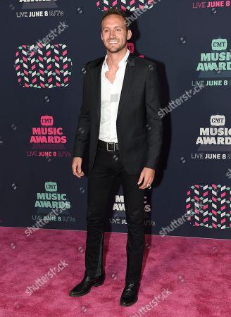 Drew Baldridge arrives at the CMT Music Awards at the Bridgestone Arena, in Nashville, Tenn