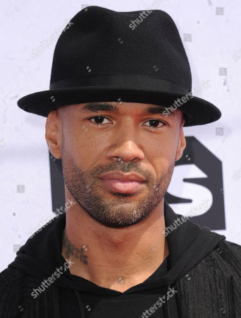Mr. Probz arrives at the iHeartRadio Music Awards at The Forum, in Inglewood, Calif