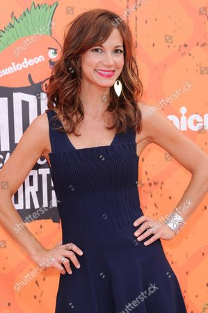 Jama Williamson arrives at the 2016 Kids' Choice Sports Awards held at UCLA's Pauley Pavilion, in Los Angeles