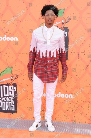 Cameron Payne arrives at the 2016 Kids' Choice Sports Awards held at UCLA's Pauley Pavilion, in Los Angeles