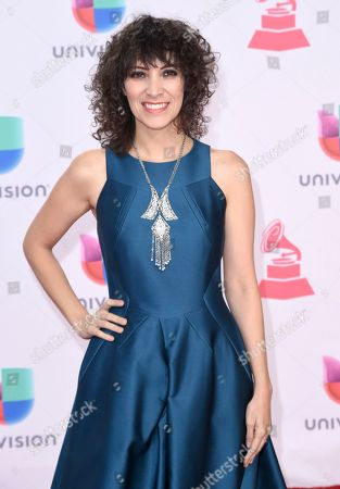 Editorial picture of 2016 Latin Grammy Awards - Arrivals, Las Vegas, USA