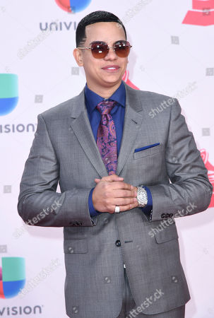 J Alvarez arrives at the 17th annual Latin Grammy Awards at the T-Mobile Arena, in Las Vegas