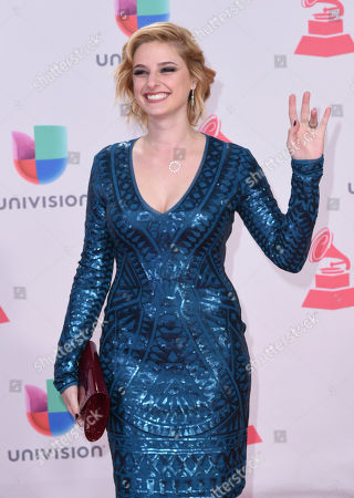 Stock Picture of Isabella Prida arrives at the 17th annual Latin Grammy Awards at the T-Mobile Arena, in Las Vegas