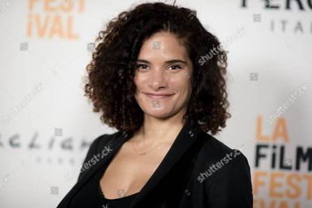 "Ashley Dyke attends the LA Film Festival screening of ""The Hollars"" held at ArcLight Cinemas, in Culver City, Calif"