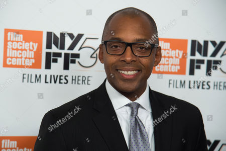 "Stock Image of Khalil Gibran Muhammad attends the 54th New York Film Festival opening night gala presentation and world premiere of ""13th"" at Alice Tully Hall, in New York"
