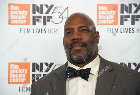 """Jelani Cobb attends the 54th New York Film Festival opening night gala presentation and world premiere of """"13th"""" at Alice Tully Hall, in New York"""