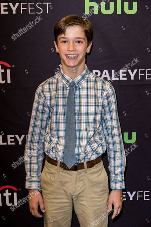 """Daniel DiMaggio, a cast member in the television series """"American Housewife"""" arrives at the 2016 PaleyFest Fall TV Previews at The Paley Center for Media, in Beverly Hills, Calif"""