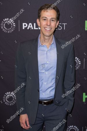 """Stock Photo of Josh Berman, Executive Producer and Co-Creator of the television series """"Notorious"""" arrives at the 2016 PaleyFest Fall TV Previews at The Paley Center for Media, in Beverly Hills, Calif"""