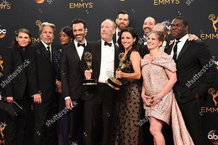 Editorial image of 2016 Primetime Emmy Awards - Press Room, Los Angeles, USA