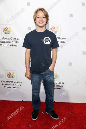 """Stock Photo of Mace Coronel arrives at the 27th Annual """"A Time for Heroes"""" Family Festival, in Culver City, Calif"""