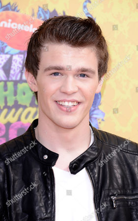 Peyton Clark arrives at the 27th annual Kids' Choice Awards at the Galen Center, in Los Angeles