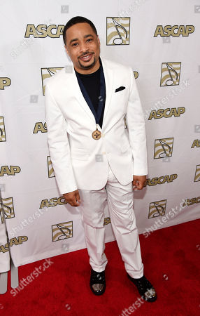 "Smokie Norful, a recipient of an ASCAP gospel award for the song ""No Greater Love,"" poses at the 2015 ASCAP Rhythm & Soul Awards at the Beverly Wilshire Hotel, in Beverly Hills, Calif"
