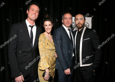 Craig Borten, Rachel Winter, Jean-Marc Vallee and Jared Leto attend the 39th Annual Los Angeles Film Critics Association Awards at InterContinental Hotel on in Century City, California
