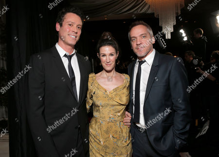 Craig Borten, Rachel Winter and Jean-Marc Vallee attends the 39th Annual Los Angeles Film Critics Association Awards at InterContinental Hotel on in Century City, California