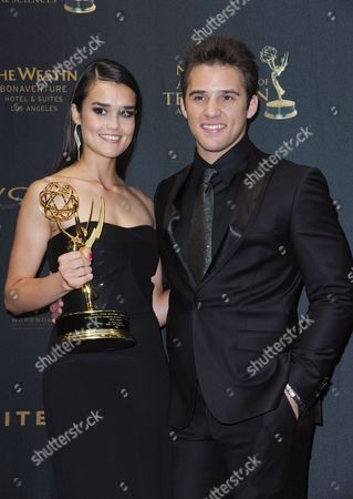 Editorial photo of 43rd Annual Daytime Emmy Awards - Pressroom, Los Angeles, USA