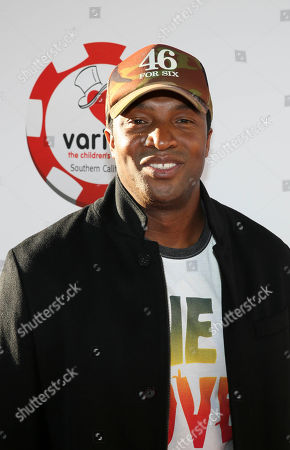 Actor Roger Cross arrives during the 4rd Annual Variety - The Children's Charity of Southern California Texas Hold 'Em Poker Tournament held at Paramount Studios, in Hollywood, California