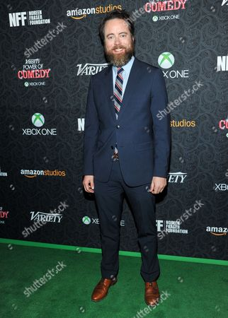 Stock Image of Jonathan Daly arrives at the 4th Annual Variety's Power of Comedy Event, in Los Angeles
