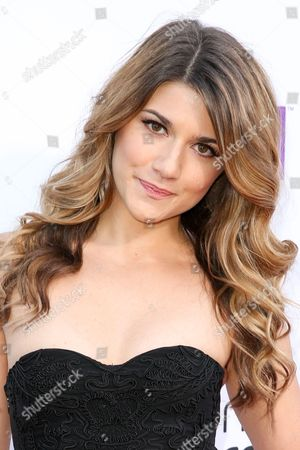 Elise Bauman arrives at the 5th Annual Streamy Awards at the Hollywood Palladium, in Los Angeles