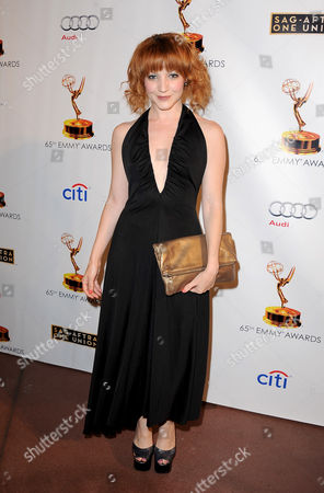 Megan Duffy arrives at the Academy of Television Arts & Sciences Dynamic & Diverse 65th Emmy Awards Nominee Celebration, on in North Hollywood, Calif