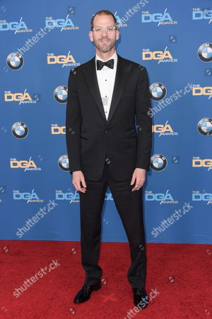 Charlie Siskel arrives the 67th Annual DGA Awards, in Los Angeles