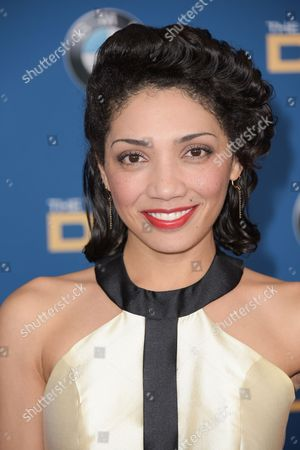 Jasika Nicole arrives the 67th Annual DGA Awards, in Los Angeles