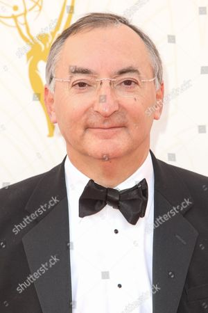 Peter Kosminsky arrives at the 67th Primetime Emmy Awards, at the Microsoft Theater in Los Angeles