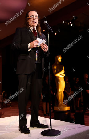 Governors Ball chair Jeffrey Kurland addresses the media at the 88th Academy Awards Governors Ball Press Preview, in Los Angeles. The 88th Academy Awards ceremony will be held at the Dolby Theatre in Los Angeles on Sunday, Feb. 28