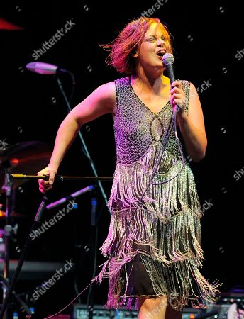Stock Photo of Ida Maria performs at the Ninth Annual MusicCares MAP Fund Benefit Concert at Club Nokia on in Los Angeles