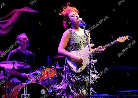 Ida Maria performs at the Ninth Annual MusicCares MAP Fund Benefit Concert at Club Nokia on in Los Angeles