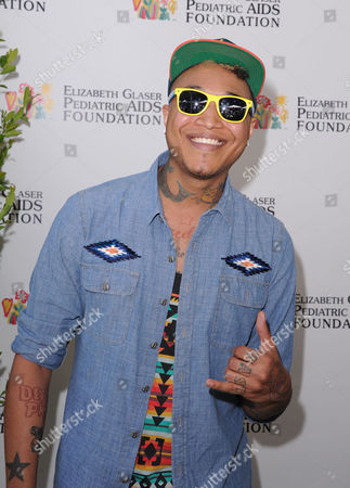Jamar Rogers attends A Time for Heroes celebrity picnic on in Los Angeles