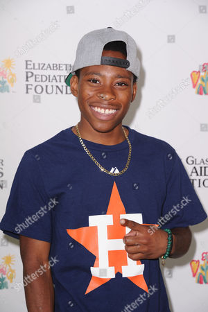 Carlon Jeffery attends A Time for Heroes celebrity picnic on in Los Angeles