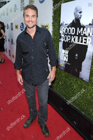 Actor James Harvey Ward arrives to AMC's 'Low Winter Sun' premiere screening on in Los Angeles