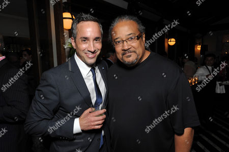 Head of creative affairs, Endemol Studios Jeremy Gold, left, and director Ernest R. Dickerson attend AMC's 'Low Winter Sun' premiere screening on in Los Angeles