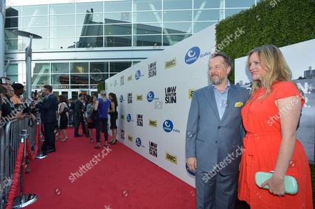 Editorial photo of AMC's Low Winter Sun Premiere Screening, Los Angeles, USA