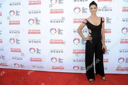 """Stock Photo of Jessica Clark attends """"An Evening with Women"""" held at the Hollywood Palladium, in Los Angeles"""