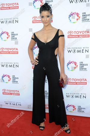 """Stock Image of Jessica Clark attends """"An Evening with Women"""" held at the Hollywood Palladium, in Los Angeles"""