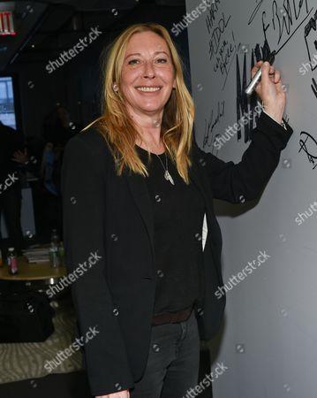 "Director Fabienne Berthaud participates in AOL's BUILD Speaker Series to discuss the film ""Sky"" at AOL Studios, in New York"