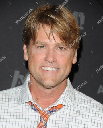 "Eric Stromer attends AOL's web series ""NewFront"" at Moynihan Station on in New York"