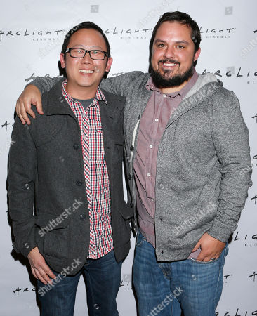 "Stock Image of Patrick Shen and Brandon Vedder from film ""La Source"" attend Arclight Cinemas' 2nd Annual Documentary Film Festival Awards at the Arclight Hollywood on in Hollywood, Calif"
