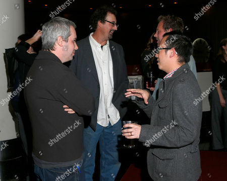 Kief Davidson and Patrick Shen attend Arclight Cinemas' 2nd Annual Documentary Film Festival Awards at the Arclight Hollywood on in Hollywood, Calif