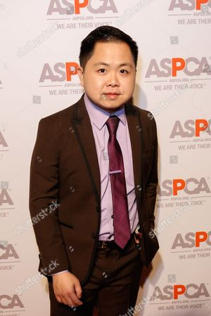 Stock Photo of Matthew Moy arrives at the ASPCA Los Angeles Benefit at a private residence in Bel-Air, in Los Angeles