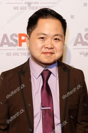 Stock Image of Matthew Moy arrives at the ASPCA Los Angeles Benefit at a private residence in Bel-Air, in Los Angeles