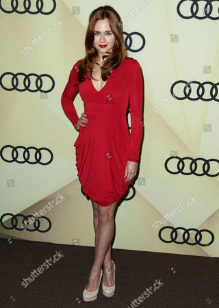 Stock Photo of Haley Strode attends the Audi Golden Globe week kick off party at Cecconi's, in Los Angeles