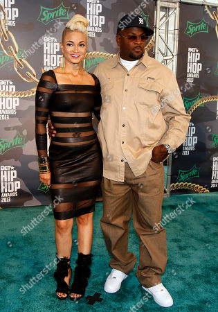 Charli Baltimore and Trick Trick walked the red carpet at the 2013 BET Hip Hop Awards at the Atlanta Civic Center, in Atlanta, Ga