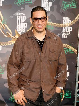 Kid Capri walked the red carpet at the 2013 BET Hip Hop Awards at the Atlanta Civic Center, in Atlanta, Ga