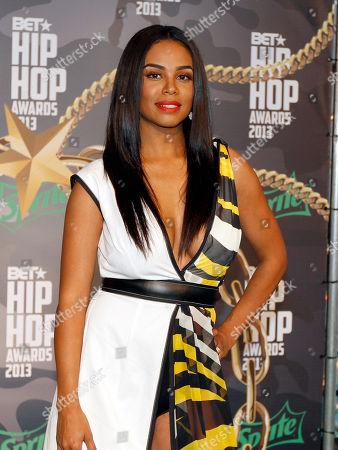 Claudette Ortiz walked the red carpet at the 2013 BET Hip Hop Awards at the Atlanta Civic Center, in Atlanta, Ga