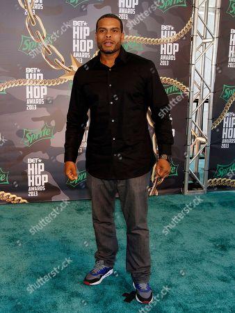 Benny Boom walked the red carpet at the 2013 BET Hip Hop Awards at the Atlanta Civic Center, in Atlanta, Ga