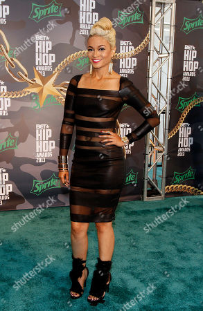 Charli Baltimore walked the red carpet at the 2013 BET Hip Hop Awards at the Atlanta Civic Center, in Atlanta, Ga